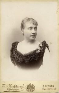 Clementine von Schuch ca. 1890