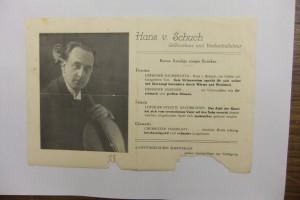 Hans von Schuch ca 1920